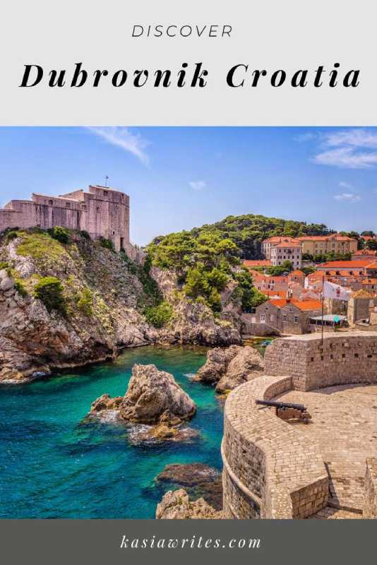 Dubrovnik Croatia coastline