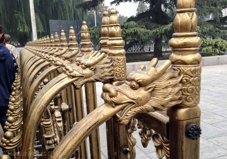 dragon Tiananmen Square