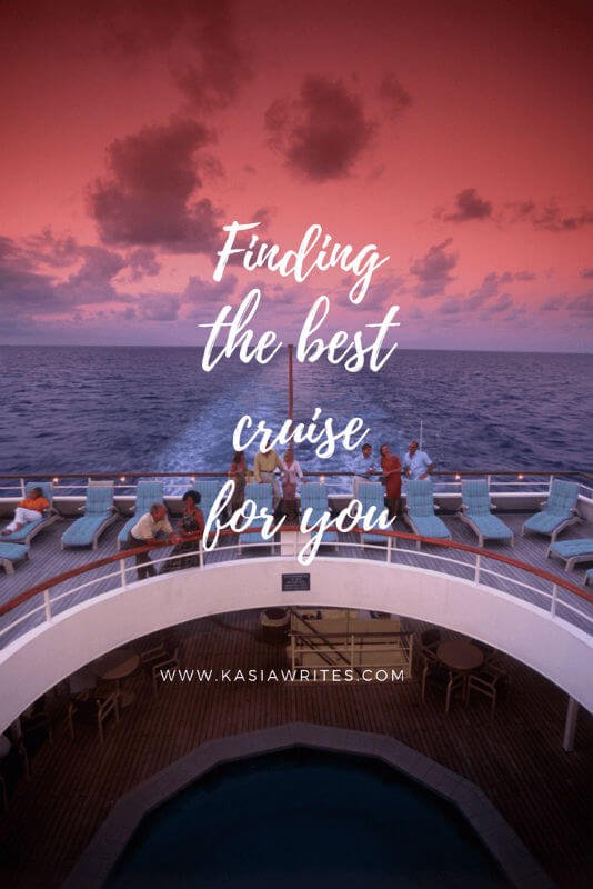 best cruise for you
