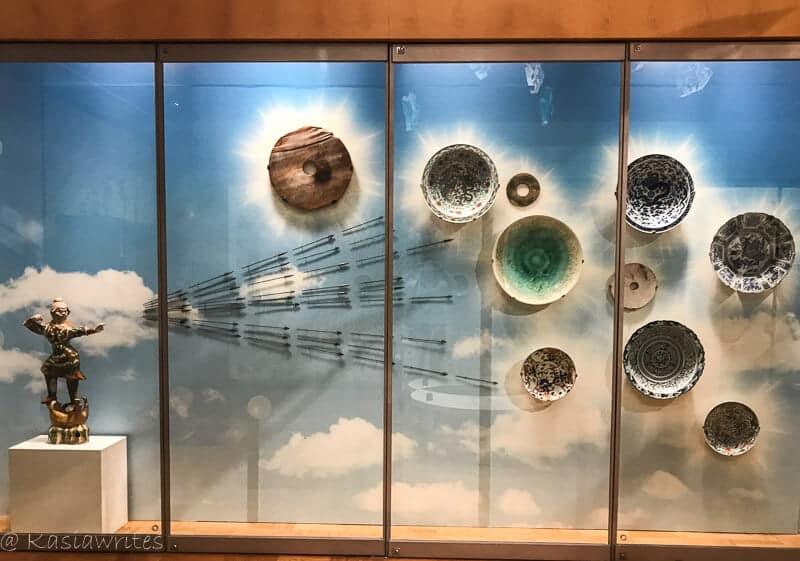 ancient China plates