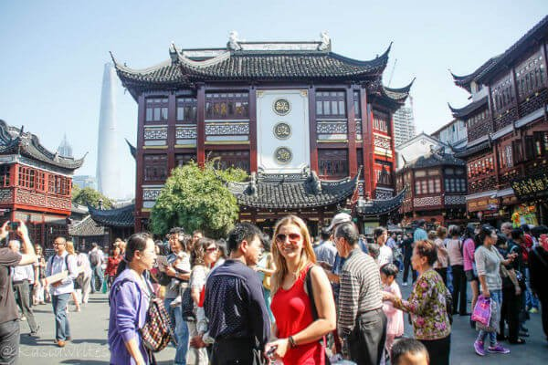 Shanghai tourist district