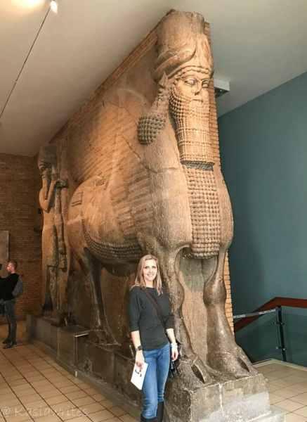 ancient exhibit at the British Museum