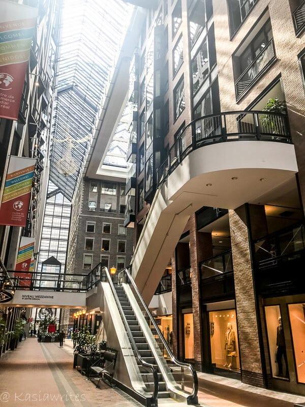 atrium of World Trade Centre