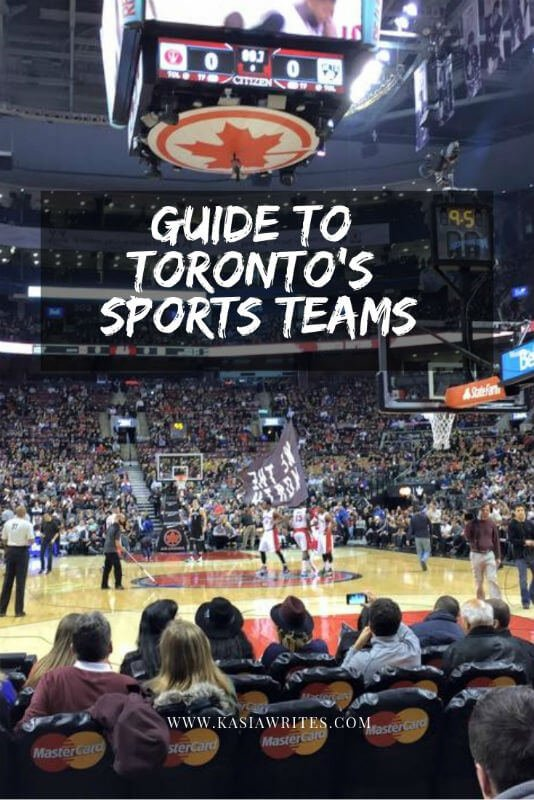 Your guide to Toronto's sports teams | kasiawrites