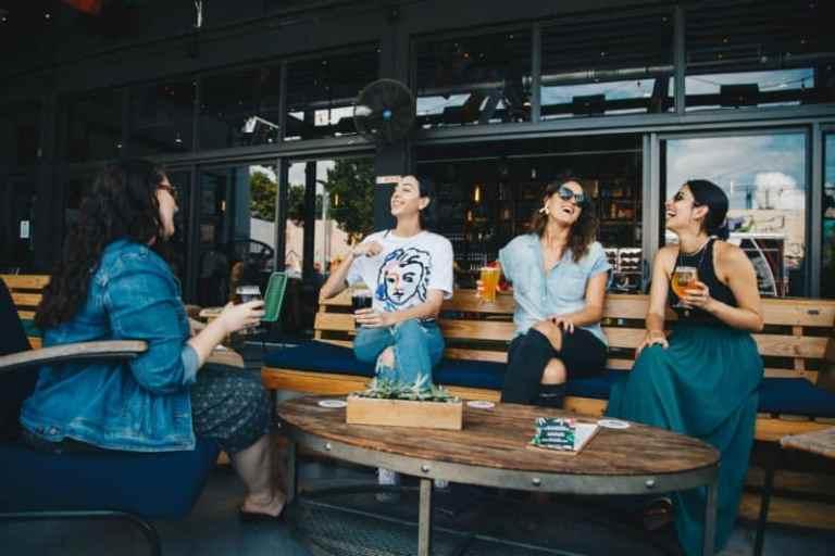 friends having drinks