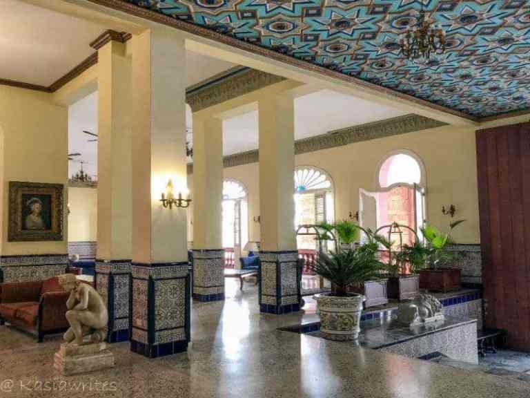 Hotel Sevilla lobby