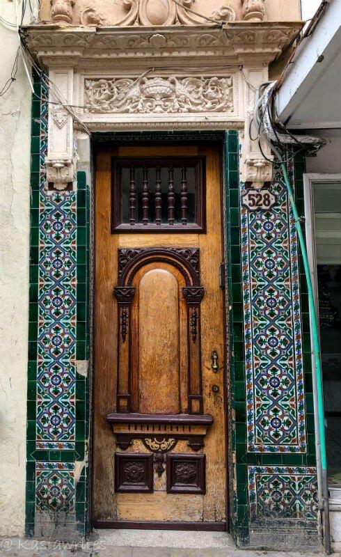 Moorish inspired architecture