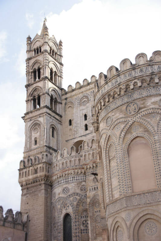 tower of the palermo cathedral