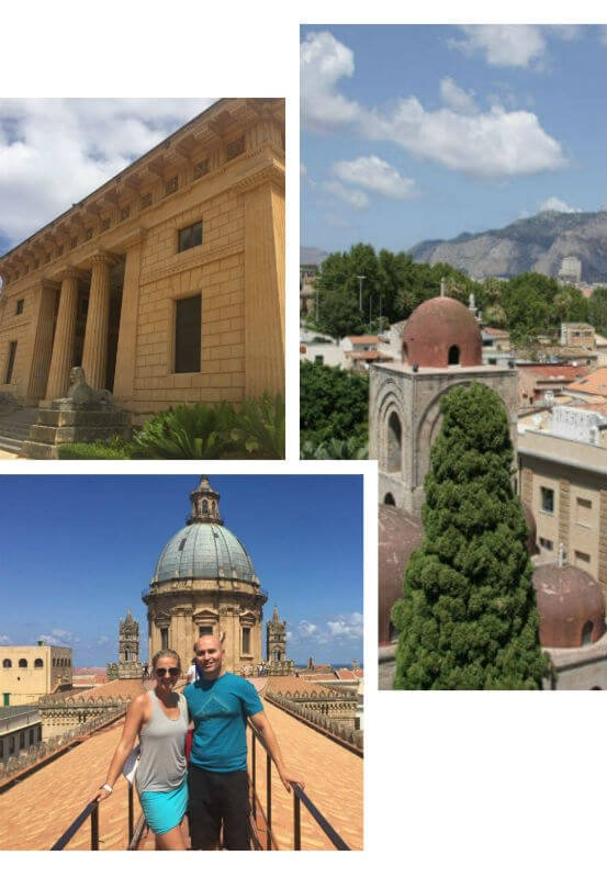 collage of images of Palermo