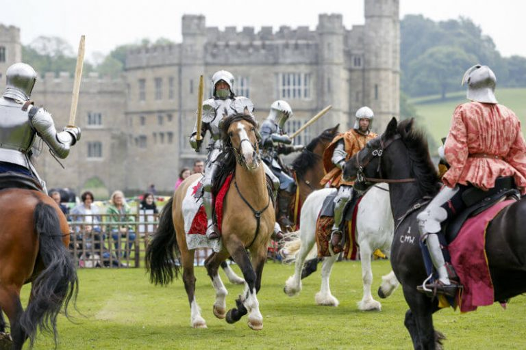 jousters at Leeds castle
