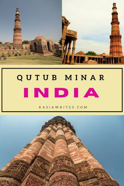 Visit Qutub Minar tower in Delhi India