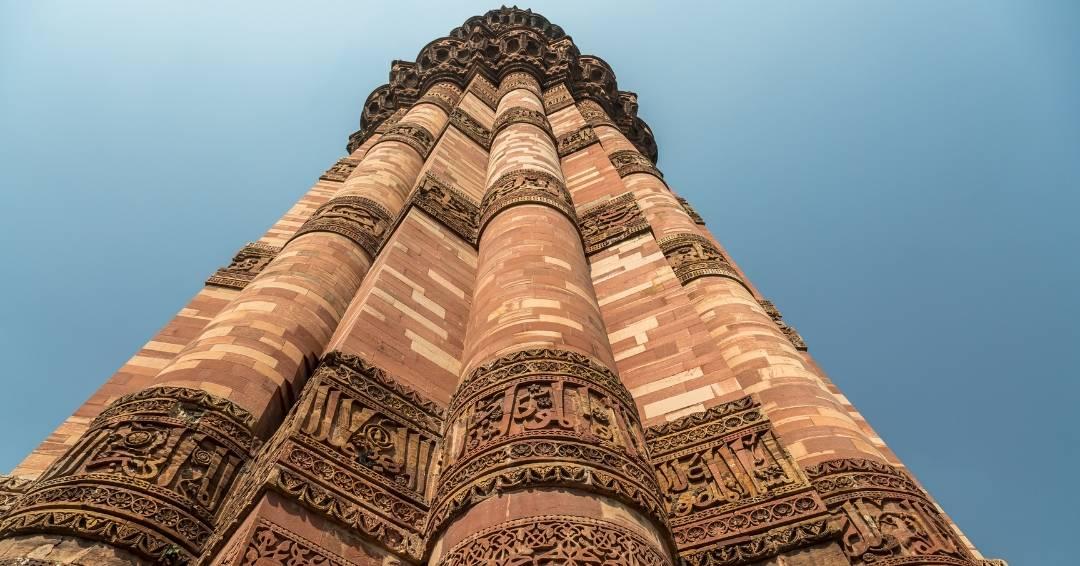 Visit Qutub Minar tower in India