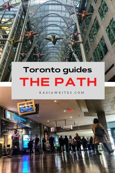Toronto's underground the path