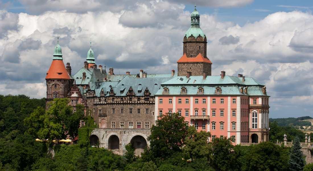 Książ Castle one of castles in Poland