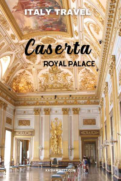 Italy travel Caserta Royal Palace