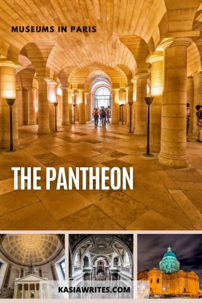 Paris guides: visiting the Pantheon museum | kasiawrites cultural travel
