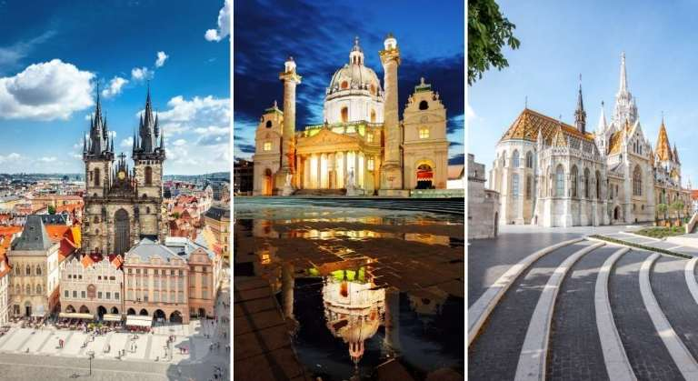 Amazing Imperial Cities tour: Prague-Vienna-Budapest in 10 days