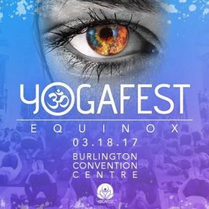 Teaching at YogaFest: Equinox in Burlington