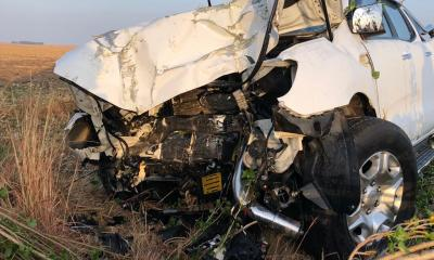 Two dead in bakkie vs tree crash
