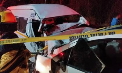 South Coast head on collision