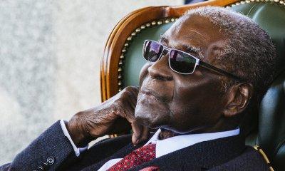 Former Zimbabwe President Robert Mugabe