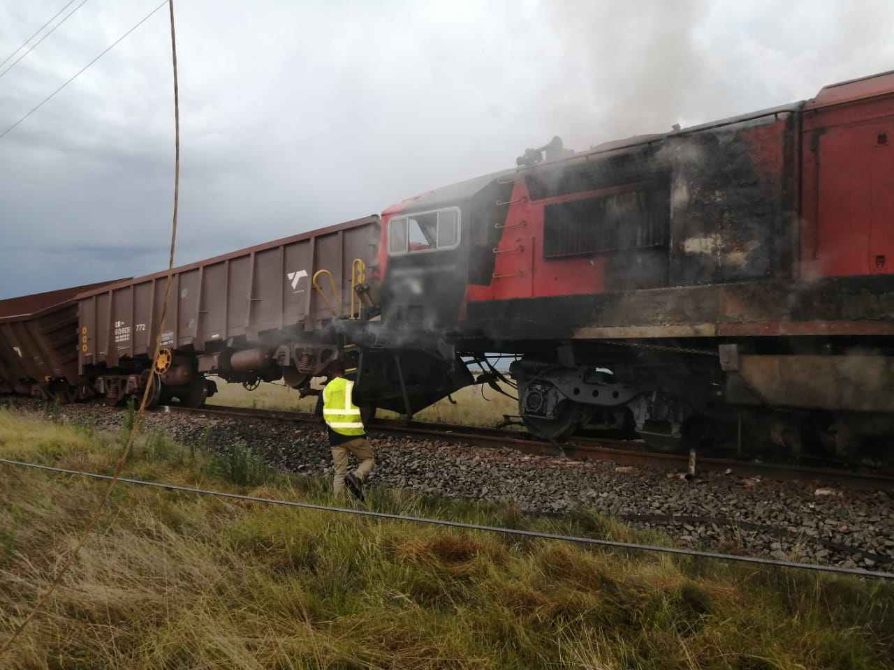 6 people injured in North West freight and passenger train collision