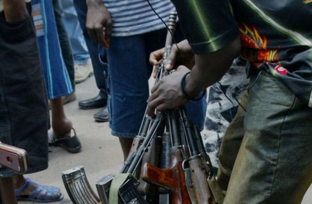 Historic Liberia war
