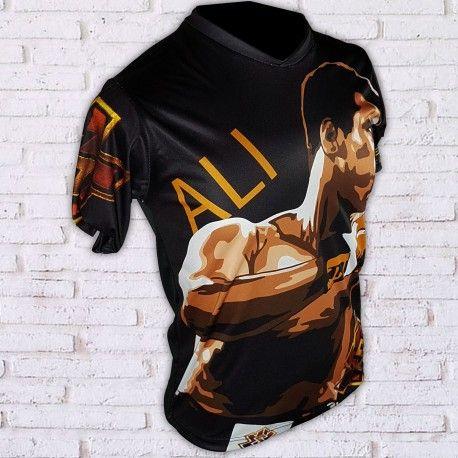 camiseta ali color muhammad ali