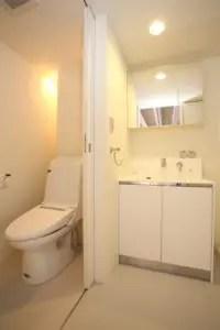 トイレと洗面室に向く床材