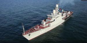 Военнослужащие Каспийской флотилии (КФл) отмечают День штурмана ВМФ