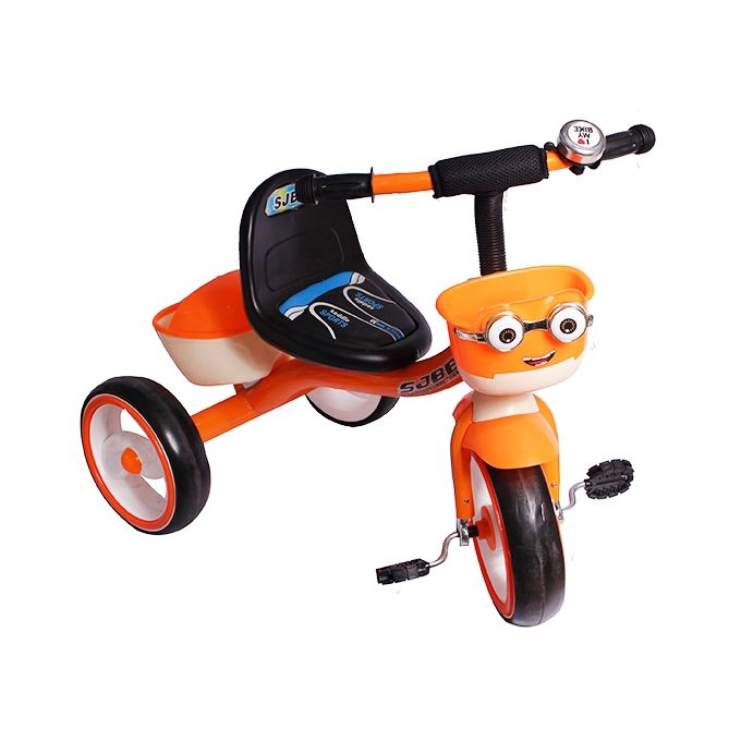 3 Wheel pretty Babies' Bicycle - Black, Orange