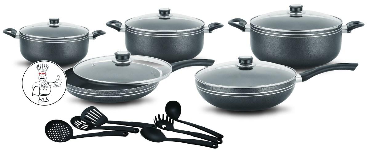 16pcs-Non-Stick Cookware Set