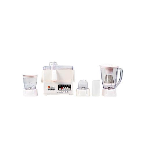 Sayona Blender/Juicer ( 4 in 1) 1.6Litre Jar White