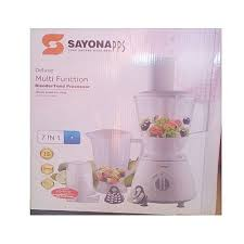 Sayona Multi Function 7 in 1 Blender/Food Processor