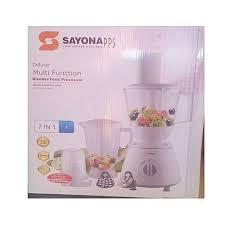 Sayona Multi Function 7 in 1 Blender/Food Processor