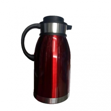 Vacuum Flask - 2L - Red And Silver