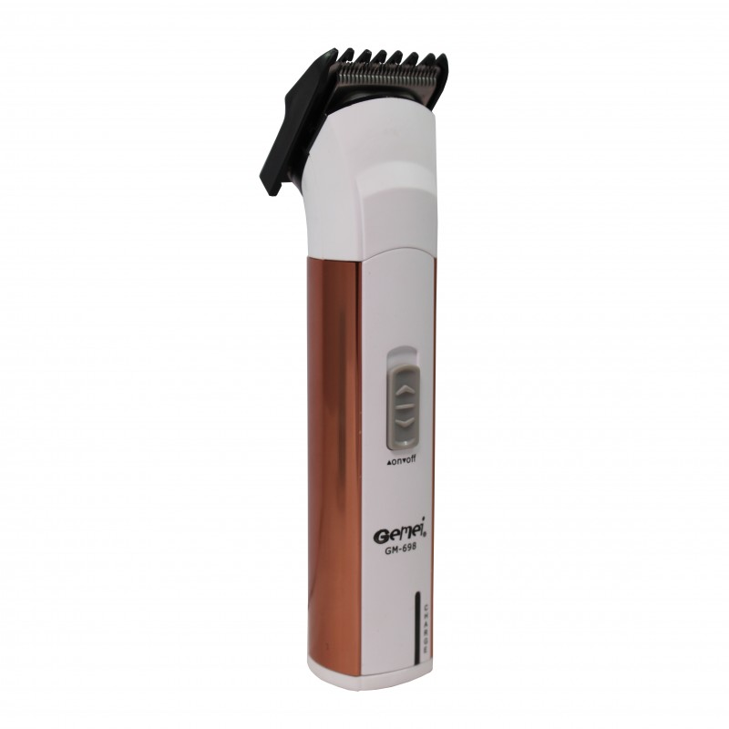 GEMEI Rechargeable Shaver - White & Gold