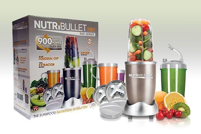 NutriBullet Nutrition Extractor Blender Juicer 900W