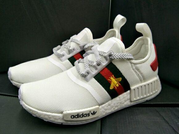 MND GUCCI Adidas Shoes-White