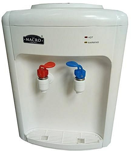 MACRO Water Dispenser Hot & Normal Basic – White.