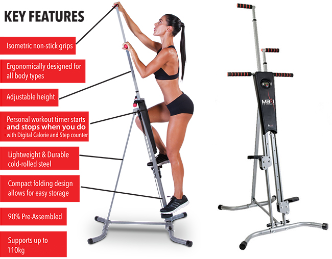 Maxi Climber full-body Workout Machine