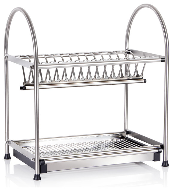 modern-dish-racks 2 tier