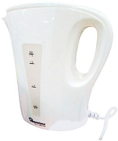 Ramtons Corded Electric Kettle 1.7 Lliters White- RM/399