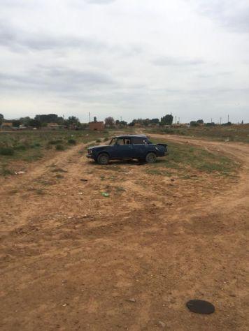 панорамный фотоснимок а-м ВАЗ 2107 вид слева