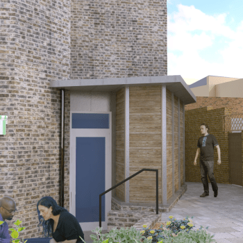 visualisation of extension to Vineyard Community Centre