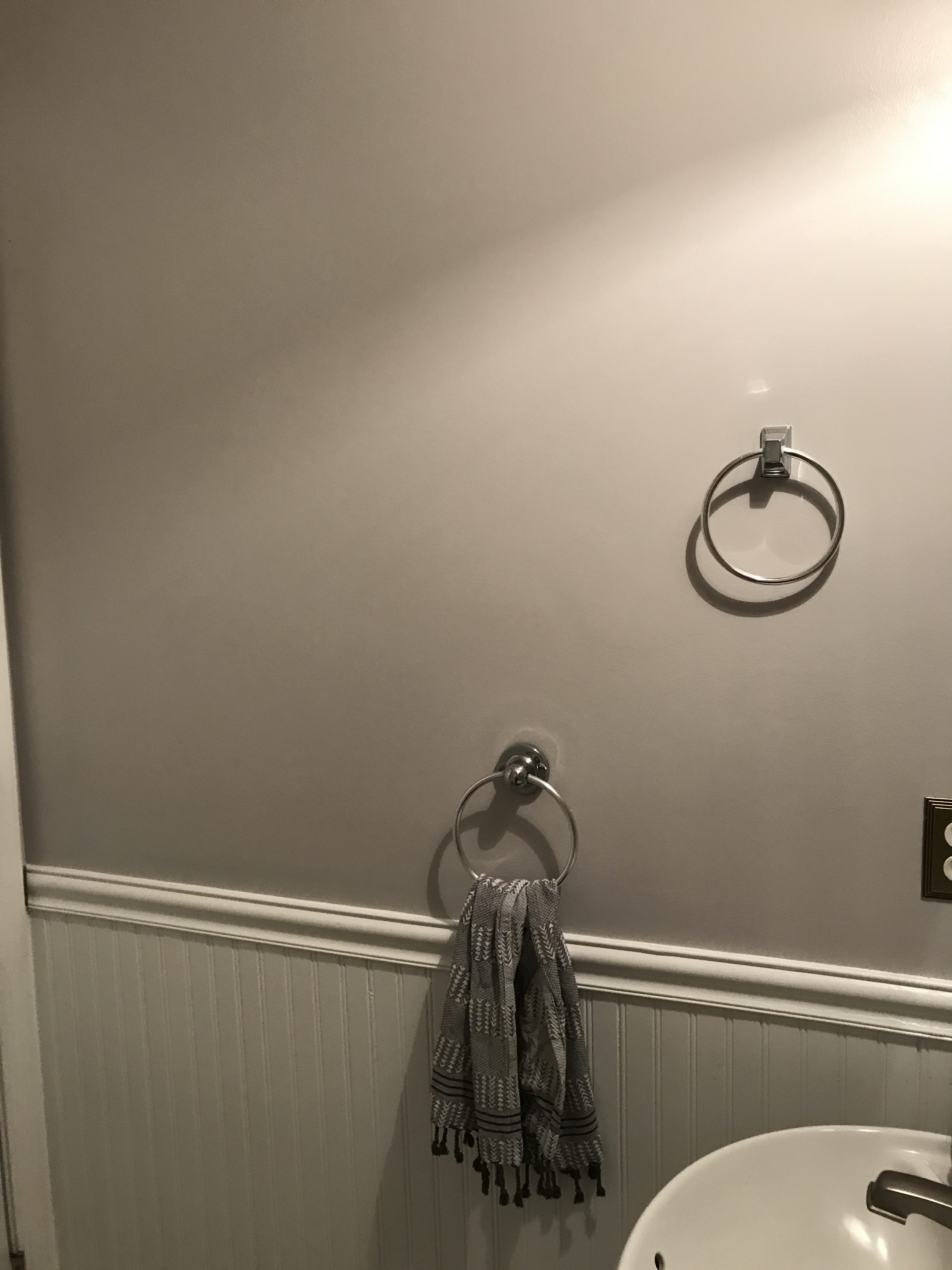 Before: towel holders