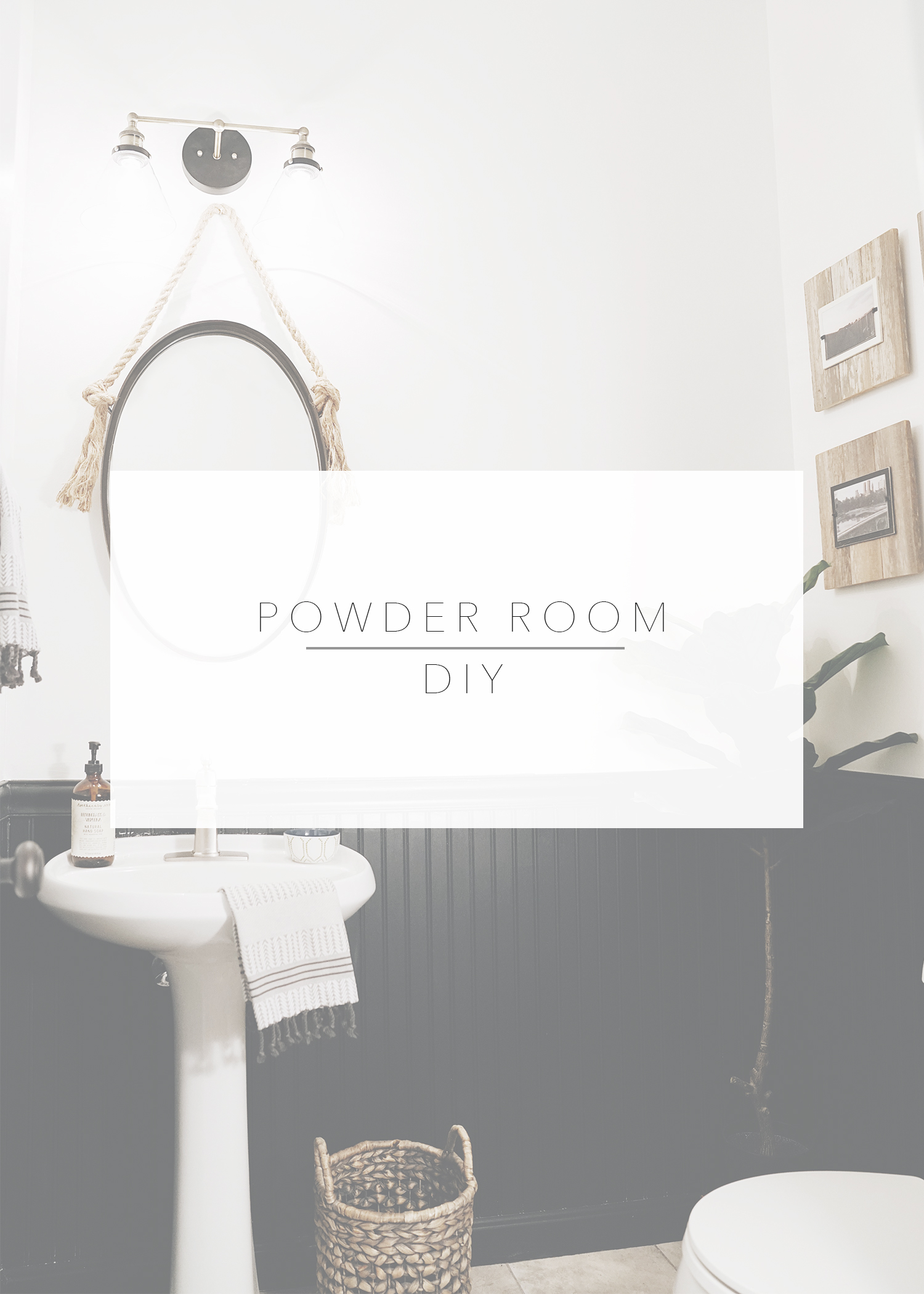 DIY Powder Room