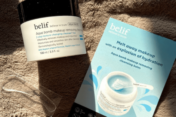 belif Aqua Bomb Cleansing Balm Voxbox Review