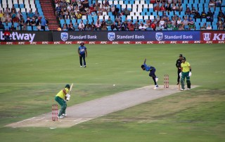 Great to attend the second T20 International between the Proteas and Sri Lanka at Supersport Park on Friday. Photo: Supplied