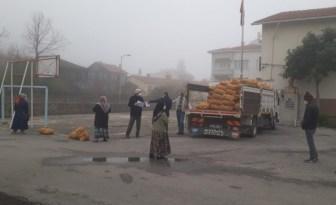 Kastamonu'da ücretsiz 53 ton patates ihtiyaç sahiplerine dağıtıldı